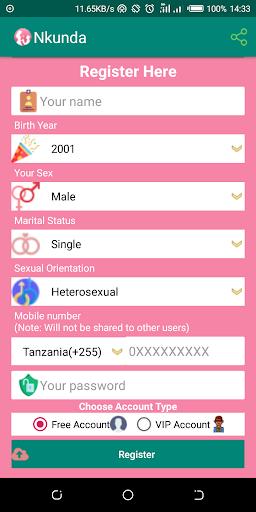 Nkunda - Free  Dating & Chat App ss3