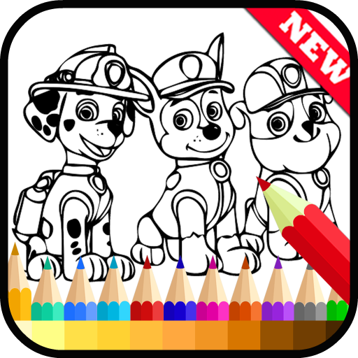 Draw Coloring Paw Patrol Fans