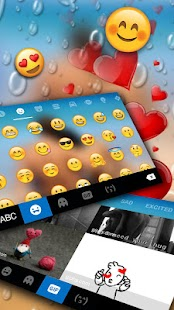 Romantic Photo Keyboard Theme - náhled