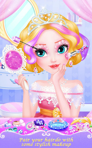 Sweet Princess Hair Salon 1.3 screenshots 9