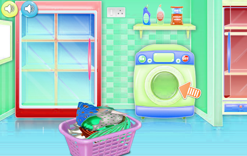 cleaning games bathroom for girls - náhled