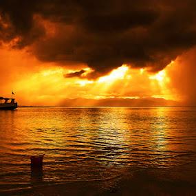 Lakey Peak by Erwan Setyawan - Landscapes Sunsets & Sunrises