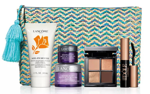 New Gifts with Purchase from Lancome and Estee Lauder