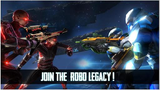 Robo Legacy: Strange Robot War Battleground apktram screenshots 1