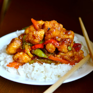 Sweet and Sour Chicken {Without all the deep-frying!}