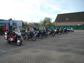Photo: vertrek te Mechelen