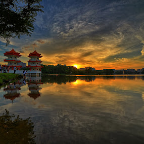 Chinese Garden by Kafoor Sammil - City,  Street & Park  Historic Districts