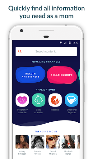 Mom.life • Pregnancy tracker & Chat rooms for moms for PC