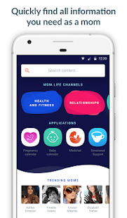 Mom.life — pregnancy tracker & support from moms - náhled