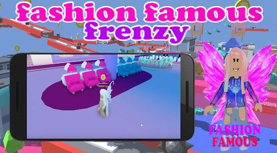 Fashion Famous Frenzy Dress Up Runway Show obby - náhled