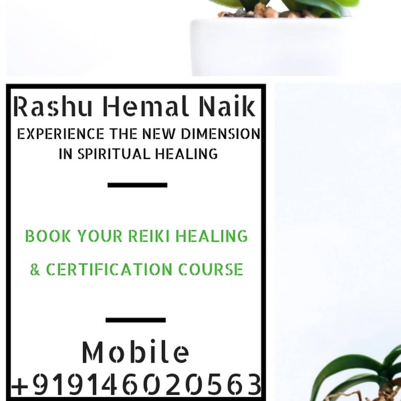 Rashu Hemal Naik - Best Astrologer, Reiki Grand Master