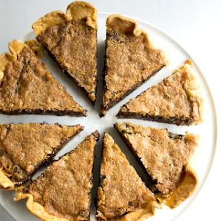 Bourbon Tollhouse Pie