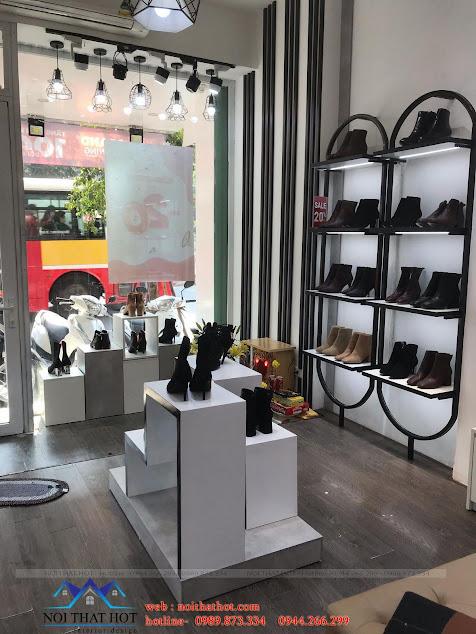 thiết kế shop giày nữ cao cấp