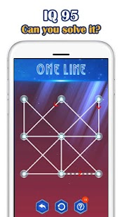 One Line Deluxe VIP - one touch drawing puzzle Screenshot