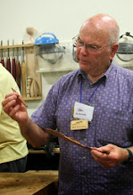 Photo: Bob made some pens from exotic scraps that he picked up.