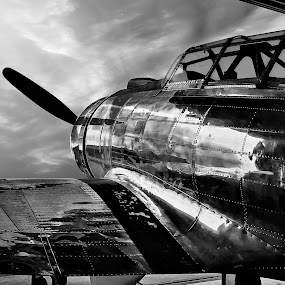 Air Museum 06 by Apollo Reyes - Transportation Airplanes ( sky, propeller, airplane, war,  )