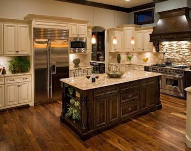 Kitchen Cabinet Design Ideas Unique Kitchen Cabinet Design Ideas  Android Apps On Google Play Decorating Design