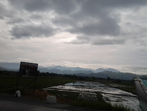 Photo: Sierra Madre Mountain Ranges on a gloomy day.