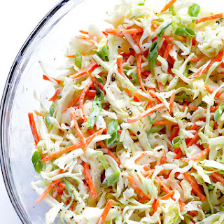 Greek Yogurt Coleslaw.