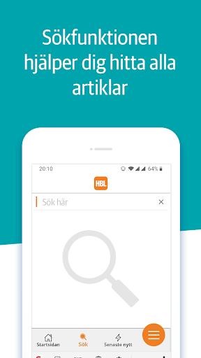 Capturas de pantalla de HBL Nyheter 2