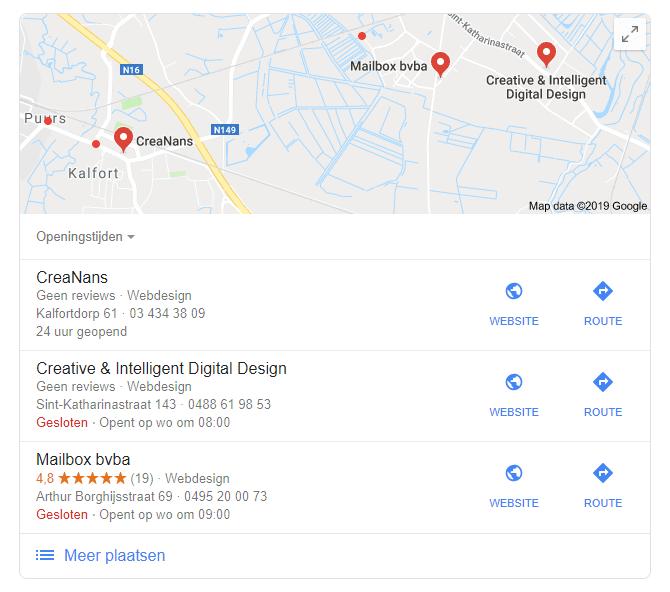 Google Mijn Bedrijf Reviews