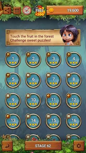 Fruits Forest : Rainbow Apple apkslow screenshots 8