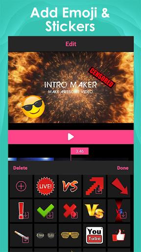 Intro Maker for Youtube -créateur de vidéo d'intro screenshot 3
