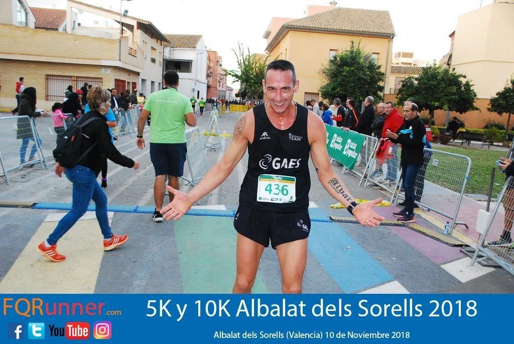 atleta del Gaes Running Team Javier Ortiz Tierno