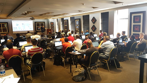 ACE training session in Johannesburg.