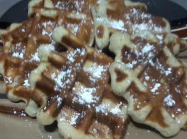 Banana Nut Waffle Cookies Recipe