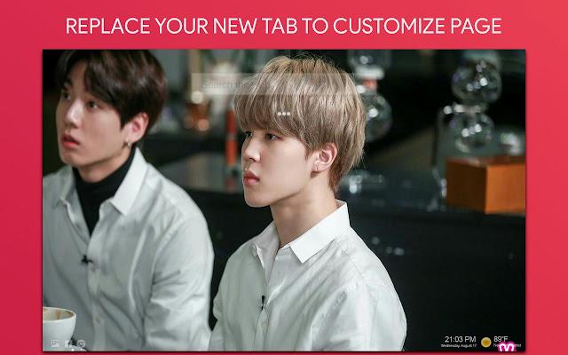Jimin & Jungkook Wallpaper HD Custom New Tab