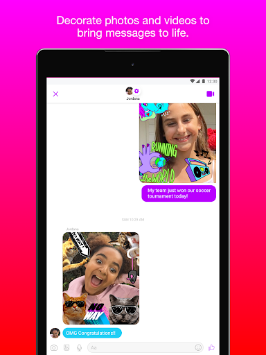 Facebook Messenger Kids screenshot 20