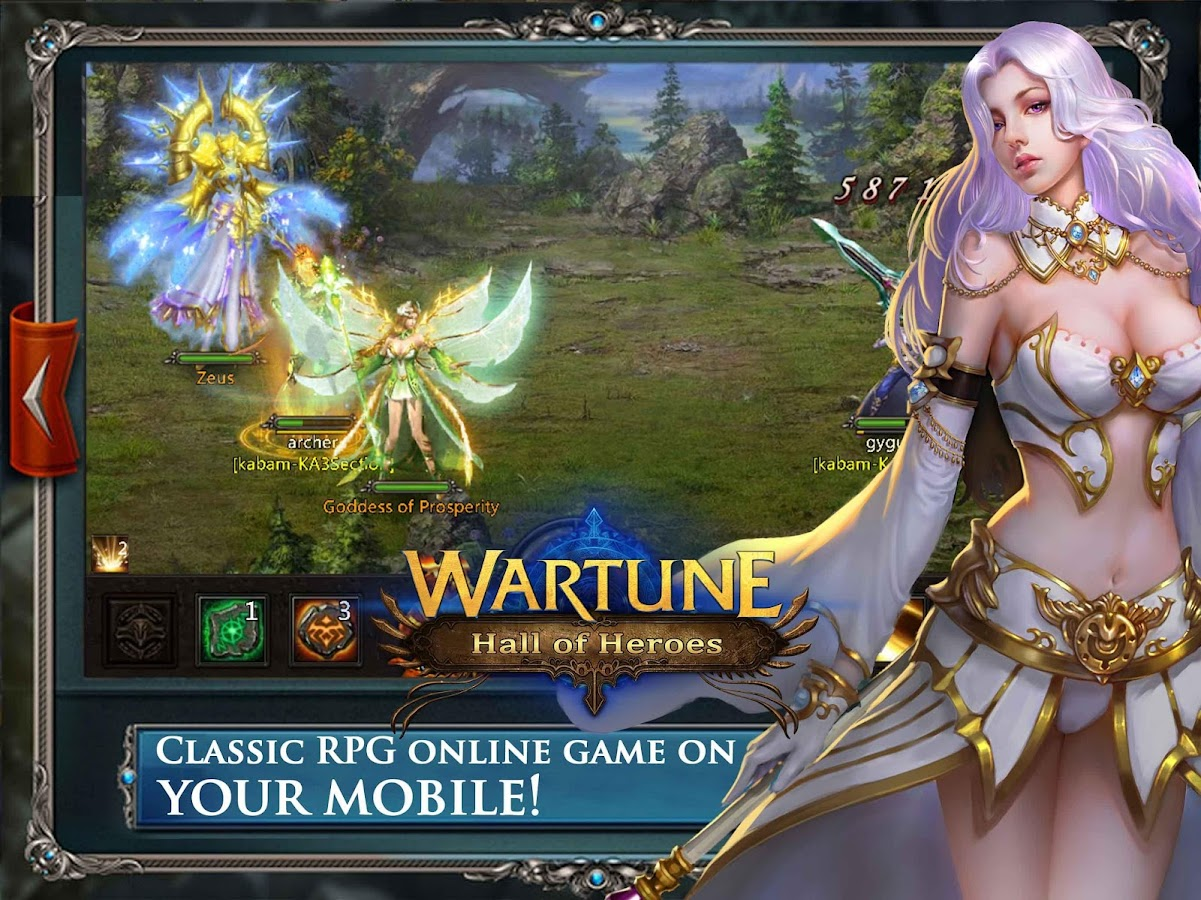 Wartune: Hall of Heroes- screenshot