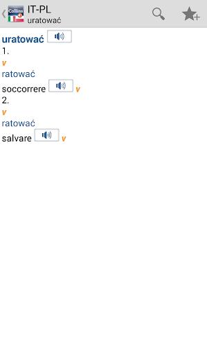 ItalianPolish Gem Dictionary