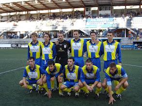 Photo: EUROPA-PALAMOS TEMPORADA 2006/07. Arriba: Pares, Carmelo, Bayona, Gallardo, Santi Celaya y Matamala. Abajo: Pijoan, Tomas Serrano, Elies, Deu y Xevi Giro.