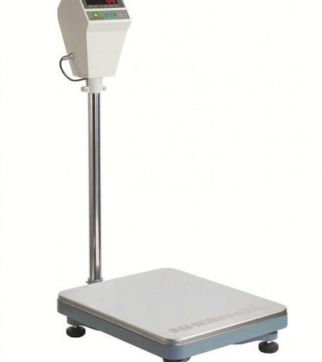 Cân bàn điện tử sở hữu cấu tạo đơn giản