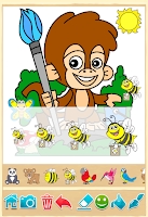 Screenshot of Animal Coloring Pages