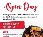 Open Day Durban Campus : Capsicum Culinary Studio - Durban Campus
