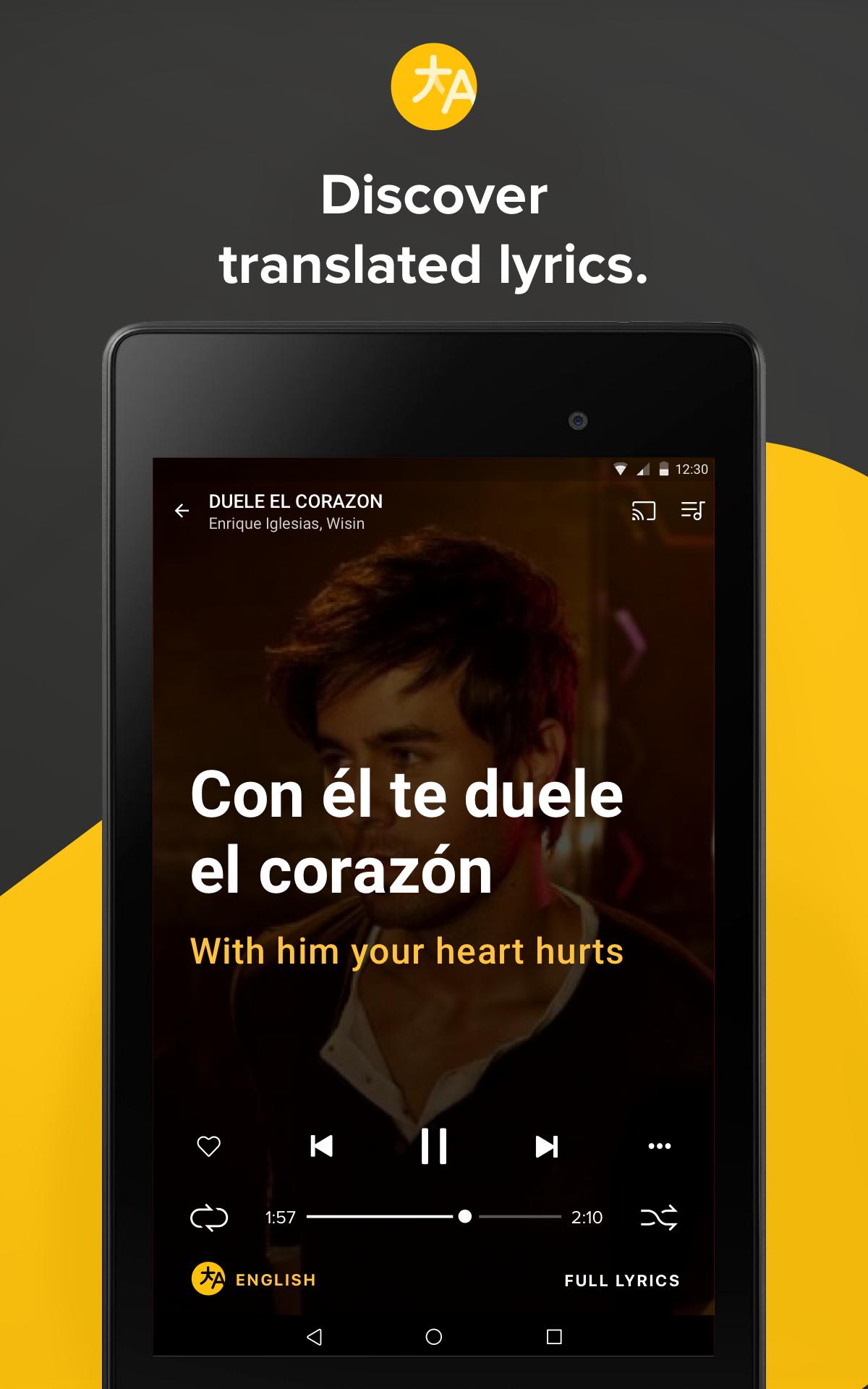 Musixmatch - Lyrics & Music screenshot #13
