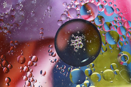 oil in water by Megarianti Megarianti - Abstract Macro