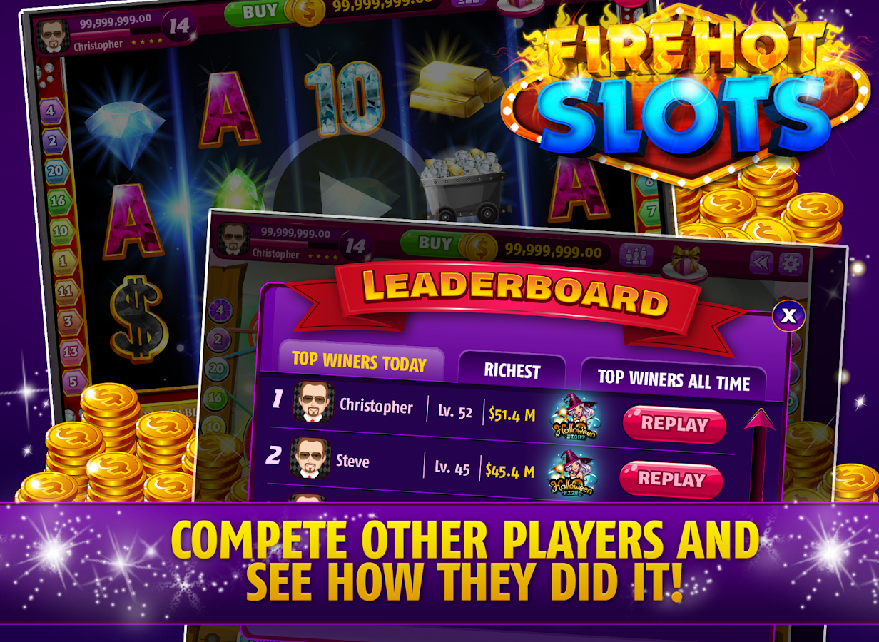 Mega Casino: FireHot Slots- screenshot