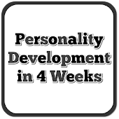 Develop Personality in 4 Weeks