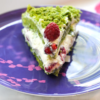 "Spinach Cake ""Pistachio"""