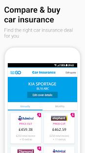 moneysupermarket go car insurance credit cards google play android. Black Bedroom Furniture Sets. Home Design Ideas