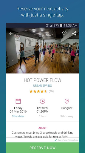 KFit - Fitness, Beauty, Spa screenshot 3