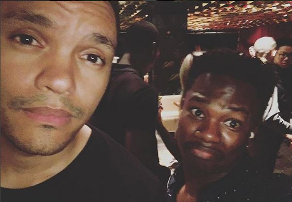 Trevor Noah and Loyiso Madinga.