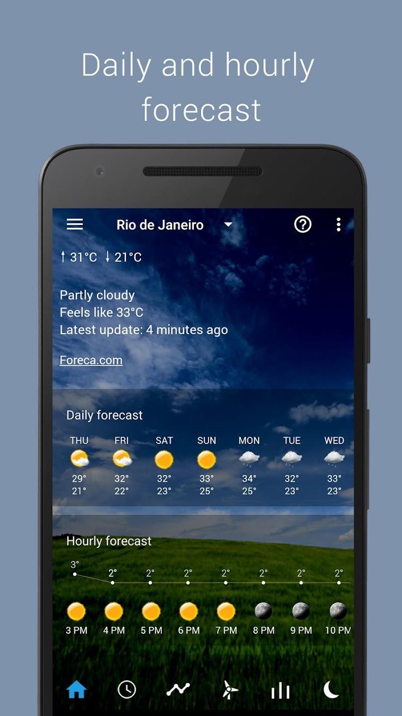 Transparent clock weather Pro Screenshot 3