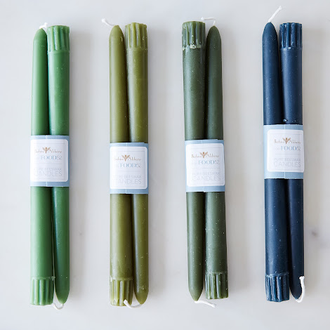 Beeswax Taper Candles (Set of 8)
