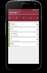App Araba piyasa Değeri ve fiyat öğrenme APK for Windows Phone