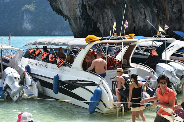 Board the speed boat with a limited number of 30 passengers